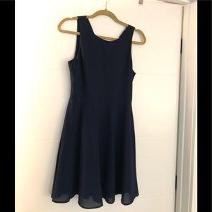 Everly navy dress